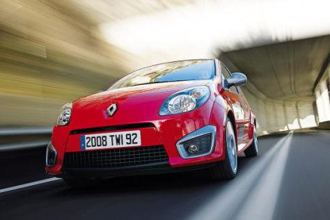 Renault Twingo RS Cup-Fahrwerk