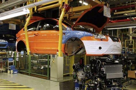 Produktionsstart Ford Focus ST