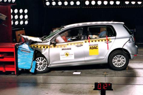 Crashtest VW Golf VI