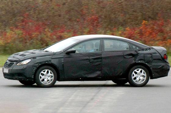 Erlkönig Hyundai Sonata Coupe