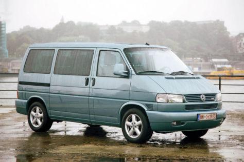 Der VW T4 Caravelle TDI war 2007 bei Autoknackern besonders populär.