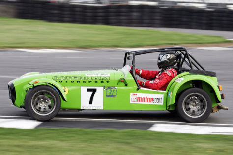 Tracktest: Caterham 7 Roadsport-A