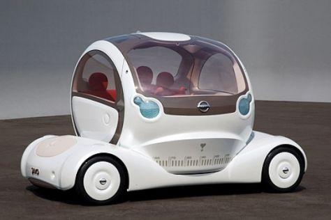 Nissan-Studien Foria und Pivo