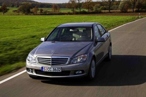Der Mercedes C 350 CGI erfüllt bereits die Abgasnorm EU 5.