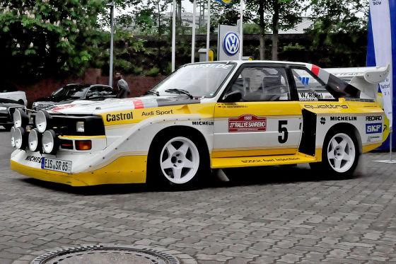 Piëchs Auto-Meilensteine: Audi Quattro