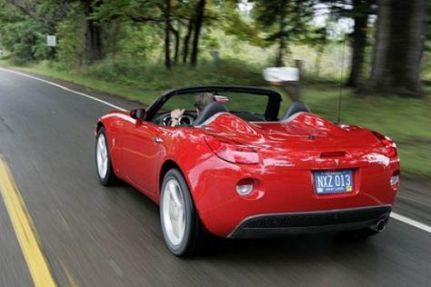 Fahrbericht Pontiac Solstice