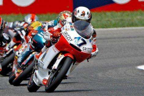 Motorrad-WM 2008, 125 ccm-Klasse, Stefan Bradl Grizzly Gas Aprilia