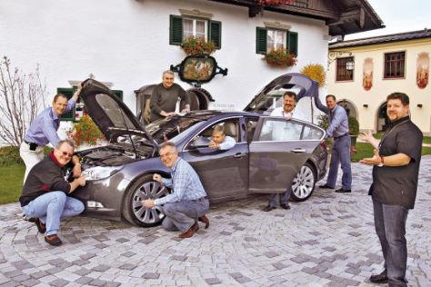Auto Bild Leser testen den Opel Insignia