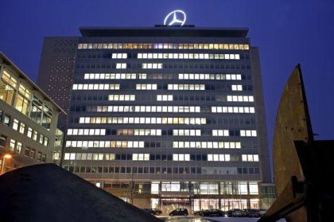 Mercedes-Hauptgebäude Untertürkheim