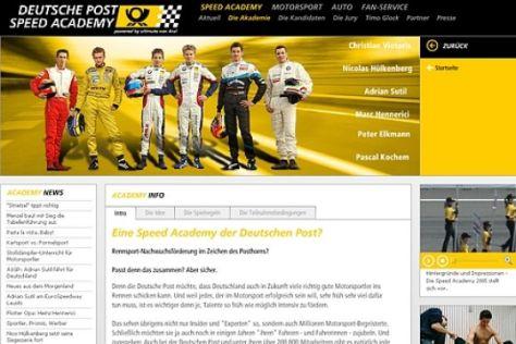 Neuer Internet-Auftritt der Speed Academy