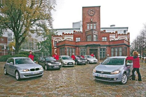 Mitsubishi Lancer Sportback 2.0 DI-D Kia cee'd 2.0 CRDI Ford Focus 2.0 TDCi BMW 118d Opel Astra 1.9 CDTI VW Golf 2.0 TDI