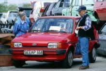 Unser Auto: klein und alt