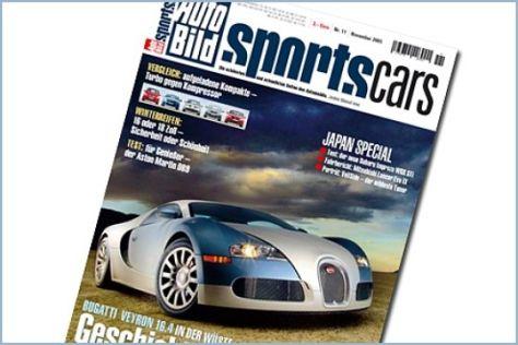 AUTO BILD SPORTSCARS 11/2005