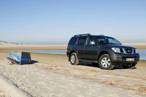 4x4 Challenge von AUTO BILD und Nissan