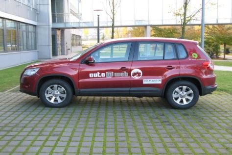 VW Tiguan mit Internetzugang