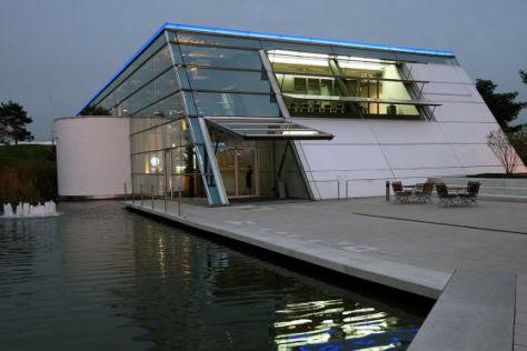 Pavillon VW Nutzfahrzeuge Autostadt Wolfsburg