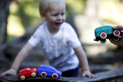 Volvo-Spielzeugautos von Viking