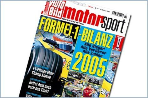 AUTO BILD MOTORSPORT 22/2005