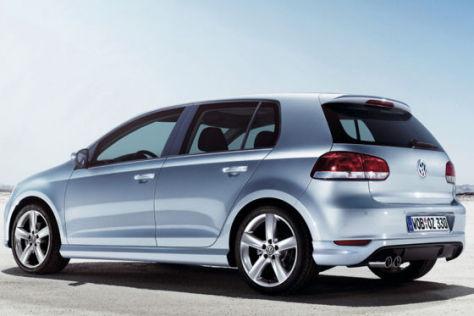 VW Golf VI aerodynamikpaket