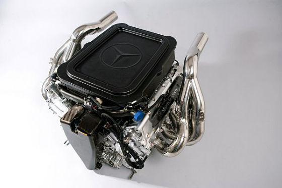 Mercedes Fomel-1-Motor