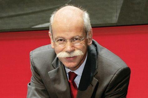 Interview mit Mercedes-Chef Dieter Zetsche