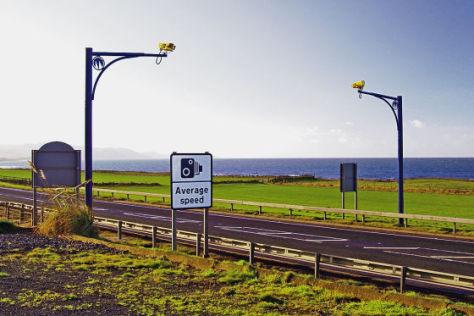 Kamerasystem in Großbritannien