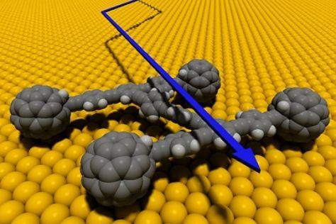 Nanocar aus Kohlenstoff-Molekülen