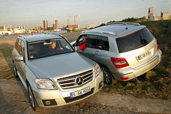Mercedes-Benz GLK 280 Mercedes-Benz GLK 320 CDI
