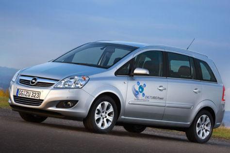 Opel Zafira CNG Turbo