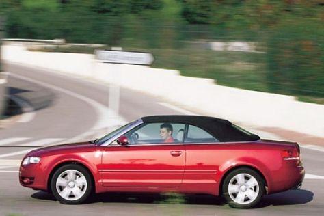Fahrbericht Audi A4 Cabrio 2.0 TFSI