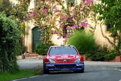 Rallye-WM 2005 in Spanien