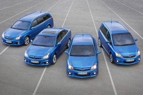 Opel OPC-Modelle