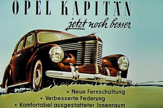Opel Kapitän 1948