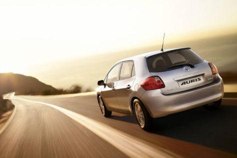Toyota bietet den Auris ab Frühjahr 2009 mit einem neuen Benzinmotor an.