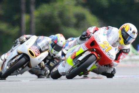Motorrad-WM 2008, Srefan Bradl, Kiefer Aprilia, 125er-Klasse