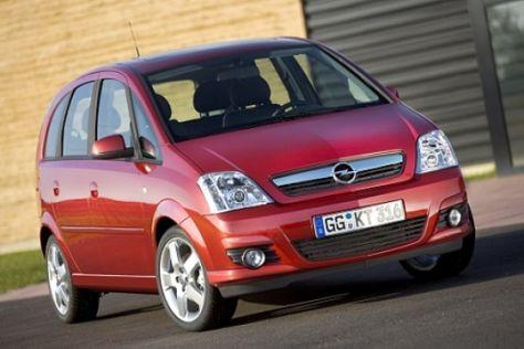 Opel Meriva (Modellpflege 2006)
