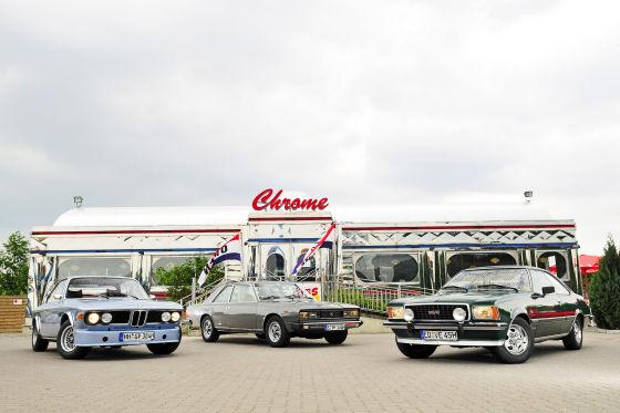 BMW 3.0 CSI Opel Commodore Fiat 130