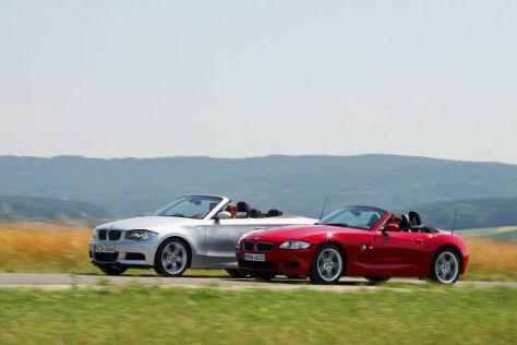 BMW Z4 M Roadster BMW 135i Cabrio