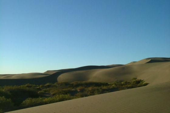 Auch in Südamerika spielt die Wüste eine Rolle: Die Atacama ist die trockenste Region der Erde.