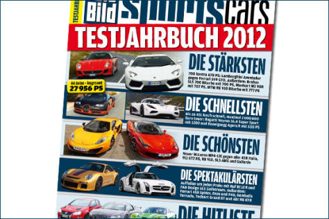 auto bild sportscars testjahrbuch 2011. Black Bedroom Furniture Sets. Home Design Ideas