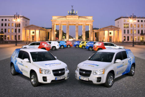 Opel HydroGen4 für AUTO BILD
