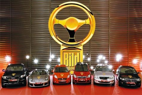 Das Goldene Lenkrad 2005