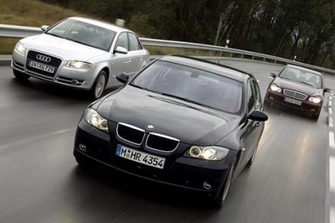 Mittelklasse-Diesel im Vergleich