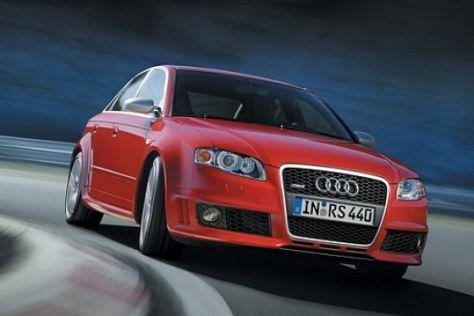 Start des Audi A4-Topmodells