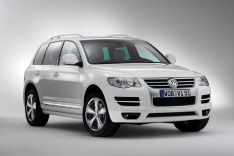 VW Touareg Sondermodell North Sails