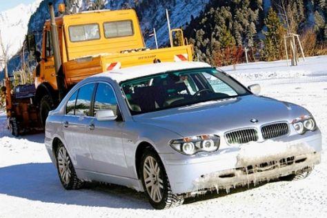 100000 Km Dauertest BMW 745i