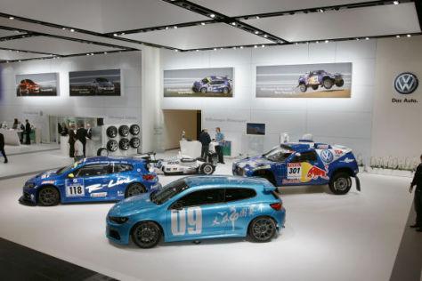 """Volkswagen Motorsport 2009, Der """"Fuhrpark"""""""