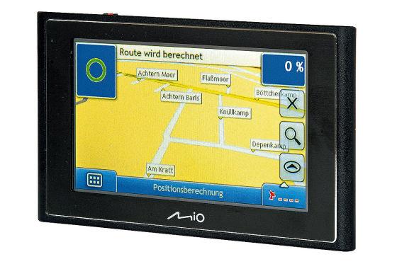 Navigationsgeräte bis 250 Euro