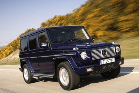 Mercedes-Benz Allrad-Produktion