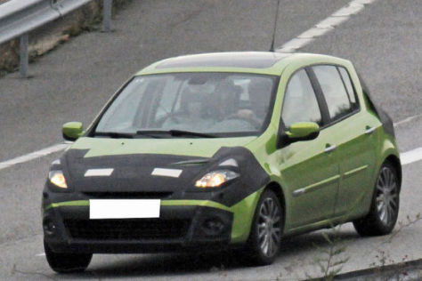 Erlkönig Renault Clio Facelift